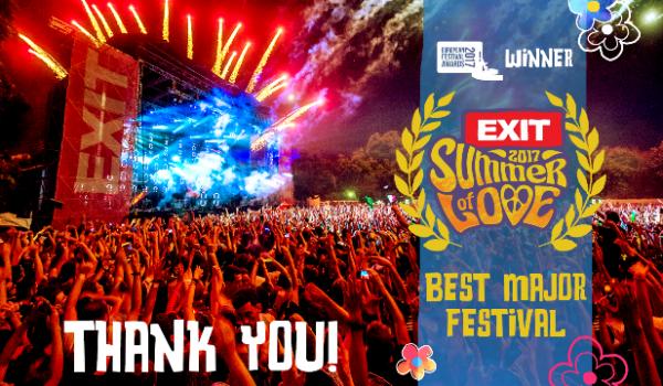 EXIT je zvanično najbolji festival Evrope