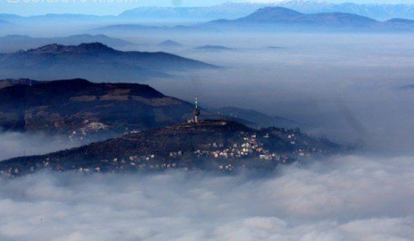 Очекује се даљи пораст концентрације прашине у Сарајеву