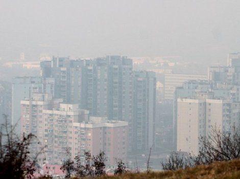 Visoka zagađenost vazduha u Sarajevu