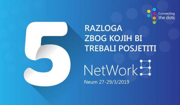 Pet razloga zbog kojih vrijedi doći na NetWork 9 konferenciju
