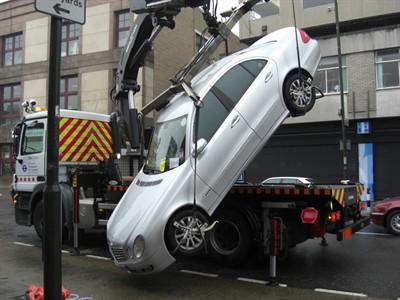 """Ruski vozač negodovao zbog intervencije """"pauka"""", sjeo u automobil i pobjegao"""