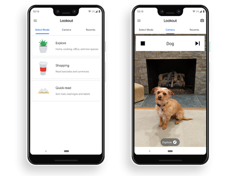 Googleova aplikacija Lookout prepoznaje predmete i znakove za slabovidne osobe