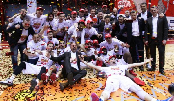 Crvena zvezda osvojila šampionsku titulu u ABA ligi