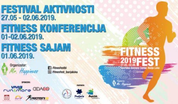 FITNES FEST Promocija zdravog života na ZABAVAN NAČIN u Banjaluci