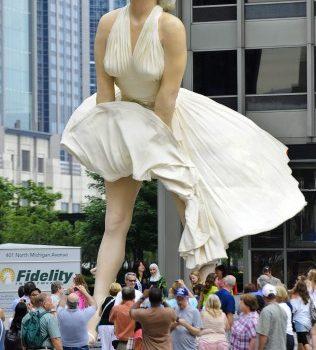 Ukradena statua Merilin Monro u Los Anđelesu