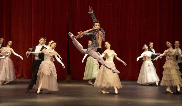 """Balet """"Dama s kamelijama"""" na sceni NPS"""