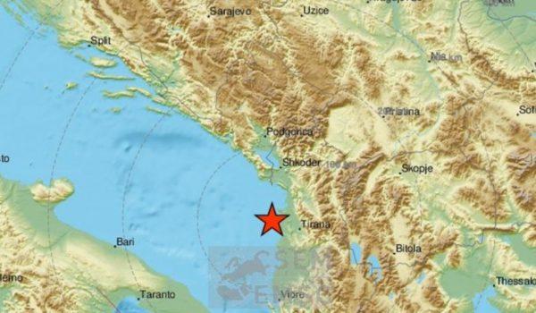 Tlo oko Drača se ne smiruje, novi potres u Albaniji