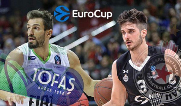 Revanš Tofaša za drugi poraz košarkaša Partizana u EK