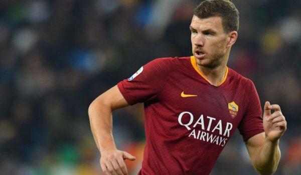Roma: Džeko bi zbog gripe mogao propustiti derbi s Interom