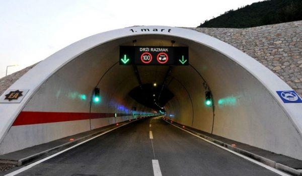"""Autoput A1: Danas počinju radovi na skoro 2,5 kilometara dugom tunelu """"Zenica"""""""