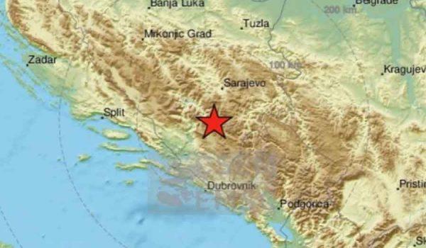 Novi potres na području Nevesinja