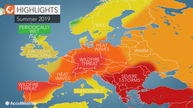 KAKVO ĆE BITI PROLJEĆE U EVROPI? Na zapadu sparina, a prognoza za Balkan vam se NEĆE SVIDJETI