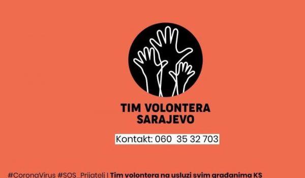Volonteri OFF-a za vrijeme pandemije pomagat će starijima u Tuzli, Zenici i Mostaru