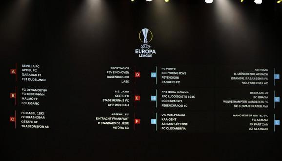 Poznati učesnici četvrtfinala Lige Evrope