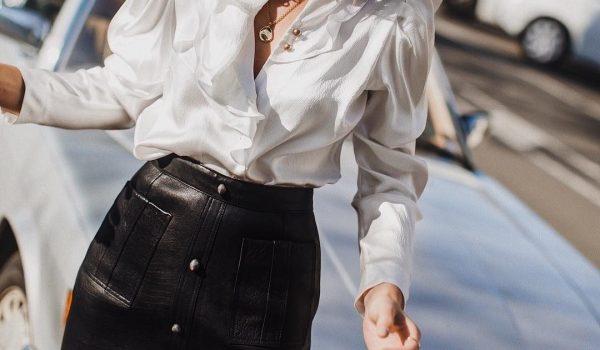 Kožne mini suknje idealne za zimske dane