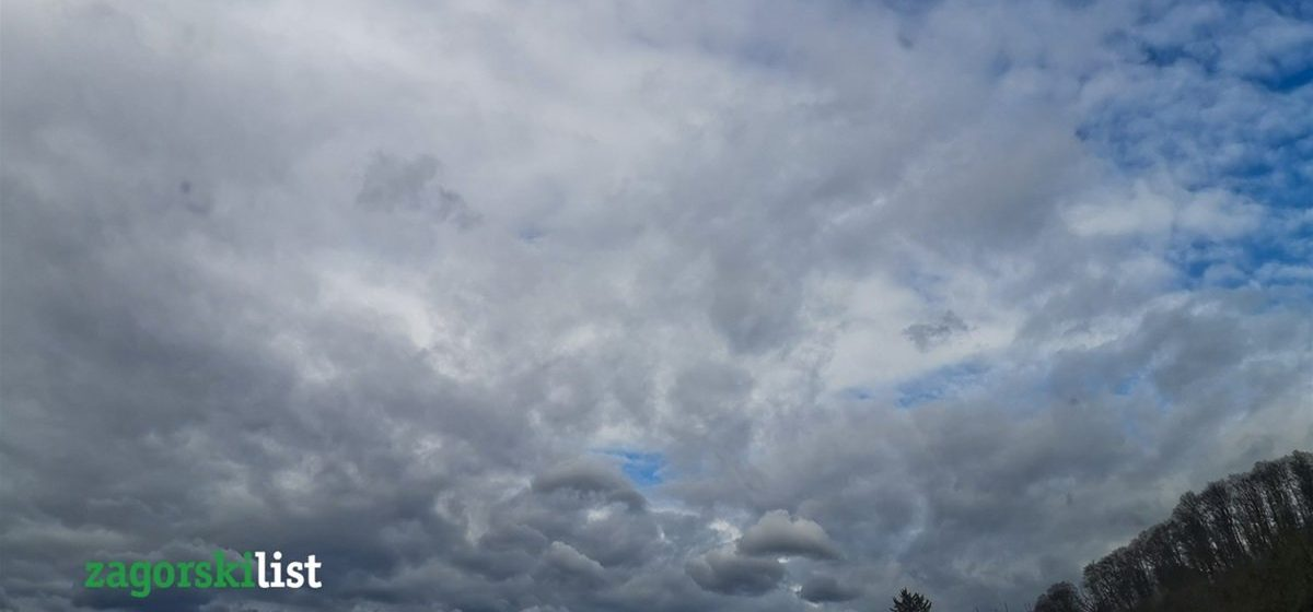 Oblačno vrijeme, mogući pljuskovi sa grmljavinom