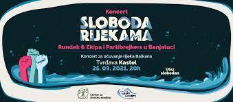 """Слобода ријекама"""": Концерт Партибрејкерса, Рундека и Екипе на Кастелу"""